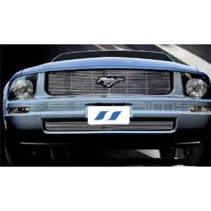 2005 2008 Ford Mustang SES Chrome Billet Grille (Top