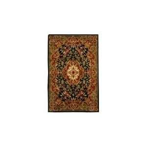 Classic   CL234D Area Rug   83 x 11   Black, Green