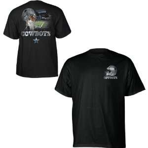 Dallas Cowboys Sky Helmet T Shirt