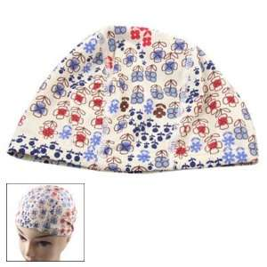 Como Women Elastic Polyester Floral Swimming Bathing Swim Cap Hat New