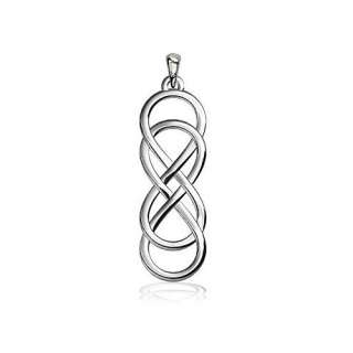 Medium Double Infinity Symbol Charm, Best Friends Forever Charm