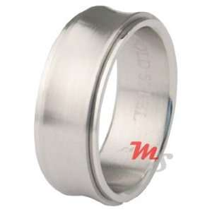 Unique Valley Spinner Band Stainless Steel Ring 13 NEW