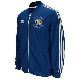 adidas Notre Dame Fighting Irish Scorch Warm Up Jacket Clothing