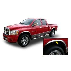02 08 DODGE RAM CHROME FENDER TRIM Wheel Well Moulding 2WD