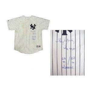 Roger Clemens New York Yankees Autographed Majestic Jersey with