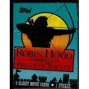 Topps Robin Hood Prince of Thieves Trading Card Pack   8