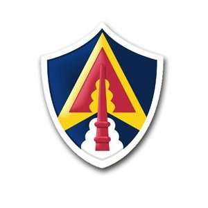 United States Army Space Command Patch Decal Sticker 5.5