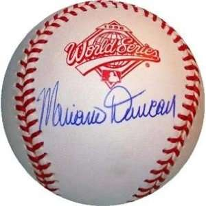 Mariano Duncan Autographed/Hand Signed 1996 World Series