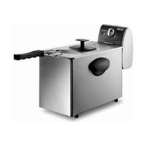 DeLonghi D14427DZ Dual Zone Deep Fryer, Stainless Steel