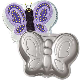 Butterfly Shaped Novelty Birthday Party Cake Pan 070896520791