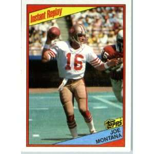 1984 Topps # 359 Joe Montana San Francisco 49ers Football
