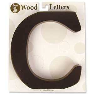 Nursery Baby Decorative Wooden Letter C Baby