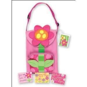 Girls Lunch Box   Snack Sac Sack FLOWER POWER   Girls lunch boxes