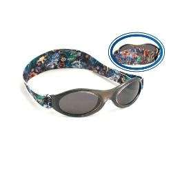 Adventure Banz Baby Sunglasses, Black Tattoo, Infants 0 2
